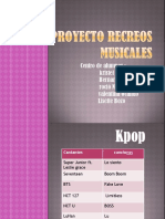 recreos musicales