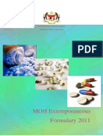 Moh Extemporaneous Formulary 2011