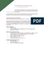 ES_Criterios de Selección de Beneficiarios