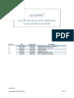 tutorial DNV - AUTOPIPE