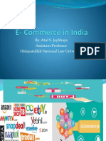 E- Commerce in India