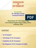 Introduction of Air Transport. Ppt