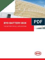 2018 BYD Battery Box Brochure EU V1.3 En