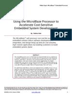 Microblaze Sensitive Apps