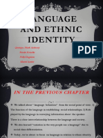 Language and Ethnic Identity (1)