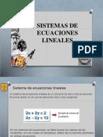 Sitema de Ecuaciones Lineales Grafico Legal