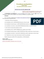 Decreto 9412-2018 - Novos Limites
