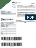 Liquidacion de Matrícula la Ingenieria Mecanica (Presencial)(Snies90728) 1047972247 Andrea Marin 20191 115-011184