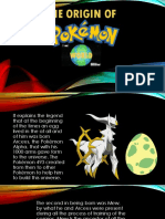 The Origin of the Pokemon World