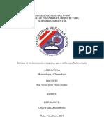 Informe de los instrumentos y equipos que se utilizan en Metereología.docx