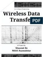 Wireless Data Transmission over ASK
