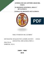 informe de fundicion de aluminio.docx