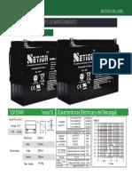Baterías Netion 12v-55ah