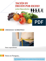 Alimentación en Malnutrición Por Exceso