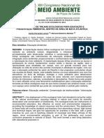 33. Implantação de Trilhas Ecológicas Para Educação e Preservação Ambiental Dentro de Área de Mata Atlântica