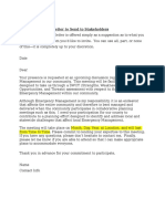 Sample Invitation Letter to Send to Stakeholders.doc
