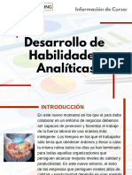 Curso Desarrollo de Habilidades Analíticas
