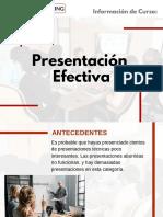 Curso de Presentación Efectiva