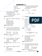 1. Calorimetry(Exercise)