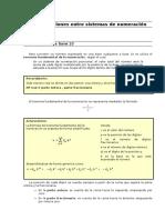 Sistemas de Numeracion - Conversiones Entre Sistemas