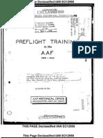 WWII Pre-Flight Training History