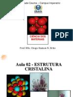 Aula 02 - Estruturas Cristalinas.pdf