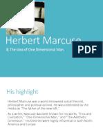 3. Marcuse One Dimensional Man