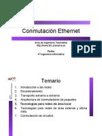 Conmutación Ethernet