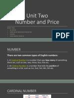 Number n Price Ppt