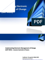 Implementing Electronic Management of Change