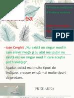 Predarea -DPPD