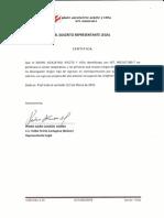 certificado ingresos directivos