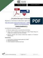 Producto Académico N° 1 - DERECHO TRIBUTARIO I