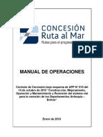 Manual operaciones