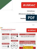 Eficiencia Ventas EPS-Inclusion Por Trama