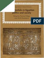 Philipp - Mamluks in Egyptian politics and society.pdf
