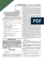 Dec Sup 051-2017-PCM - Amplía Informacion Del Dec Leg 1246