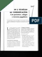Métodos y técnicas de comunicación. Con pacientes, colegas y terceros pagadores.pdf