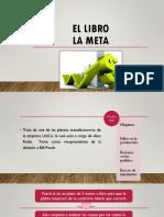 Libro La Meta