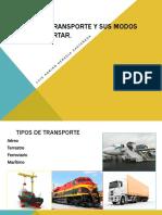 Medios de Transporte y Sus Modos de Transportar