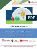 Guía de Contenidos Creatividad e Innovación