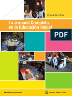 La Jornada Completa en la Educación Inicial