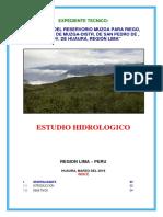 Estudio hidrologico.docx