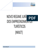 Novo Regime JurIdico Empreendimentos Turisticos TURISMO ALENTEJO ERT
