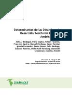 Determinantes dinámicas desarrollo territorial rural en A. Latina-2011