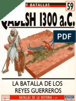 Ejercitos y Batallas 59 - Qadesh 1300 a.C.pdf