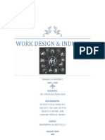 Work Design & Industry