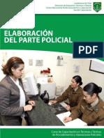 Carabineros de Chile - Manual Didáctico Elaboración de Parte Policial