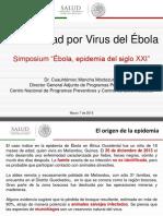 PONENCIA DR. CUAUHTEMOC Enfermedad Por Virus Del Ébola