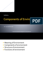 Lecture 3- Components, Structure and Functions of Env
